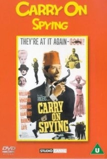 Carry on Spying - Poster / Capa / Cartaz - Oficial 1