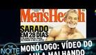 The Noite (28/04/15) - Monólogo: Sobre o vídeo do Lula malhando