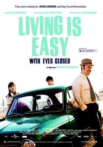 Viver é Fácil Com os Olhos Fechados - Poster / Capa / Cartaz - Oficial 2