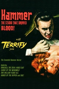 Hammer: The Studio That Dripped Blood - Poster / Capa / Cartaz - Oficial 1