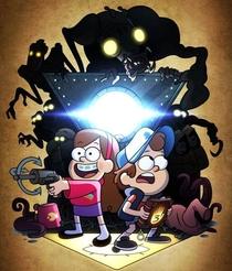 Gravity Falls (2ª Temporada) - Poster / Capa / Cartaz - Oficial 4