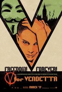 V de Vingança - Poster / Capa / Cartaz - Oficial 5