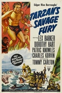 Tarzan e a Fúria Selvagem - Poster / Capa / Cartaz - Oficial 1