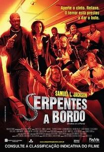Serpentes a Bordo - Poster / Capa / Cartaz - Oficial 1