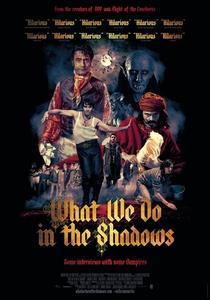 O Que Fazemos Nas Sombras - Poster / Capa / Cartaz - Oficial 1