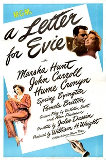 Uma Carta para Evie - Poster / Capa / Cartaz - Oficial 1
