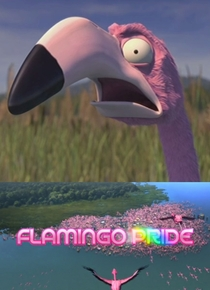 Flamingo Pride - Poster / Capa / Cartaz - Oficial 1