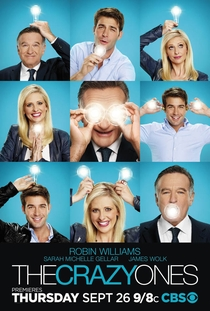 The Crazy Ones (1ª Temporada) - Poster / Capa / Cartaz - Oficial 1