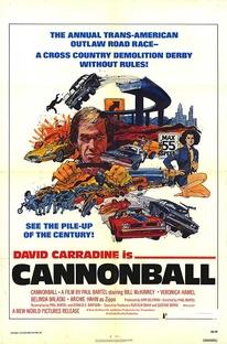 Cannonball - A Corrida do Século - Poster / Capa / Cartaz - Oficial 1
