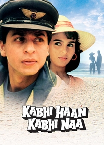 Kabhi Haan Kabhi Naa - Às Vezes Sim, Ás Vezes Não - Poster / Capa / Cartaz - Oficial 1