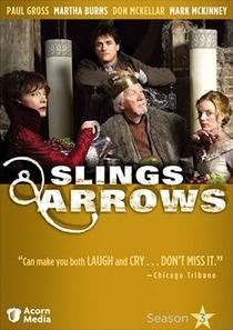Slings & Arrows (3ª temporada) - Poster / Capa / Cartaz - Oficial 1