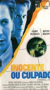 Inocente ou Culpado - Poster / Capa / Cartaz - Oficial 3