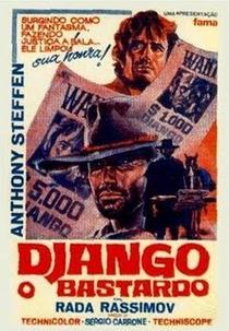 Django, O Bastardo - Poster / Capa / Cartaz - Oficial 1