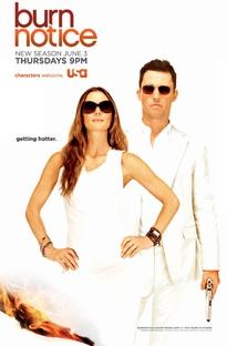 Burn Notice (4ª Temporada) - Poster / Capa / Cartaz - Oficial 1