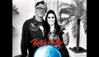 Mia entrevistando Noodles, guitarrista do Offspring no Rock In Rio (14-09)