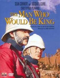 O Homem que Queria Ser Rei - Poster / Capa / Cartaz - Oficial 3