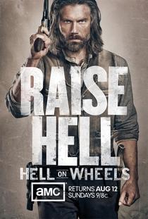 Hell On Wheels (2ª Temporada) - Poster / Capa / Cartaz - Oficial 1