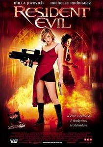 Resident Evil: O Hóspede Maldito - Poster / Capa / Cartaz - Oficial 1