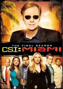 CSI: Miami (10ª Temporada) - Poster / Capa / Cartaz - Oficial 1