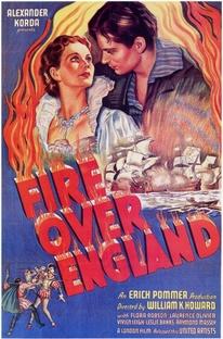 Fogo Sobre a Inglaterra - Poster / Capa / Cartaz - Oficial 1