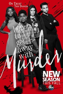 How to Get Away with Murder (2ª Temporada) - Poster / Capa / Cartaz - Oficial 2