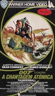 007 - Contra a Chantagem Atômica - Poster / Capa / Cartaz - Oficial 3
