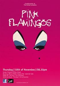 Pink Flamingos - Poster / Capa / Cartaz - Oficial 5