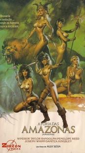 A Fúria das Amazonas - Poster / Capa / Cartaz - Oficial 2