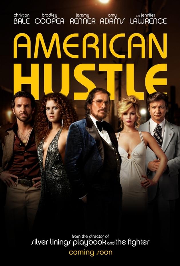 "Veja novos pôsteres de ""American Hustle"" com  Christian Bale e Bradley Cooper"