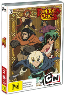 Deltora Quest anime - Poster / Capa / Cartaz - Oficial 1