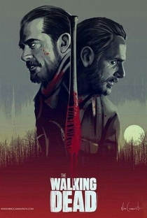 The Walking Dead (8ª Temporada) - Poster / Capa / Cartaz - Oficial 6