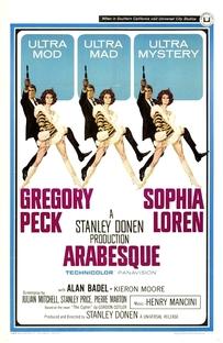 Arabesque - Poster / Capa / Cartaz - Oficial 1
