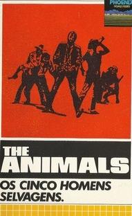 Os Cinco Homens Selvagens - Poster / Capa / Cartaz - Oficial 1