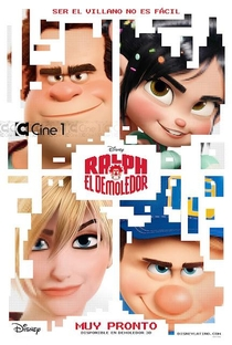 Detona Ralph - Poster / Capa / Cartaz - Oficial 6