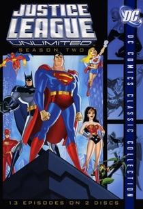 Liga da Justiça Sem Limites  (2ª Temporada) - Poster / Capa / Cartaz - Oficial 1