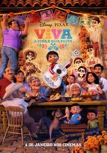 Viva - A Vida é Uma Festa - Poster / Capa / Cartaz - Oficial 2