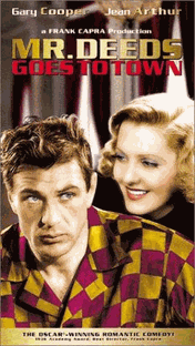 O Galante Mr. Deeds - Poster / Capa / Cartaz - Oficial 1