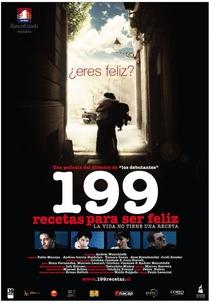 199 Recetas Para Ser Feliz - Poster / Capa / Cartaz - Oficial 1