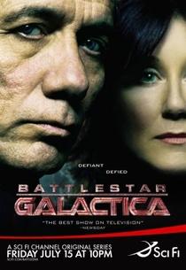 Battlestar Galactica (1ª Temporada) - Poster / Capa / Cartaz - Oficial 2