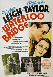 A Ponte de Waterloo - Poster / Capa / Cartaz - Oficial 2