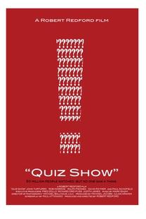 Quiz Show - A Verdade dos Bastidores - Poster / Capa / Cartaz - Oficial 2
