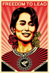 Aung San Suu Kyi - Lady of No Fear - Poster / Capa / Cartaz - Oficial 1