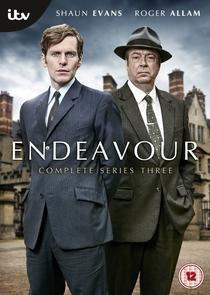 Endeavour 3ª Temporada - Poster / Capa / Cartaz - Oficial 1
