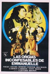 Las Orgías Inconfesables de Emmanuelle - Poster / Capa / Cartaz - Oficial 1