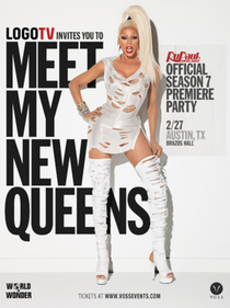 RuPaul's Drag Race: Untucked! Season Seven - Poster / Capa / Cartaz - Oficial 1
