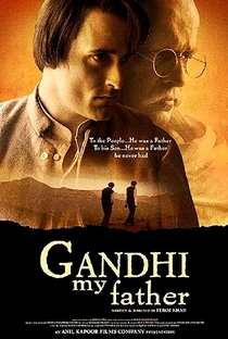 Gandhi, My Father - Poster / Capa / Cartaz - Oficial 1