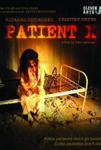 Patient X - Poster / Capa / Cartaz - Oficial 1