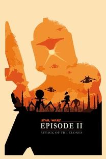 Star Wars: Episódio II - Ataque dos Clones - Poster / Capa / Cartaz - Oficial 4