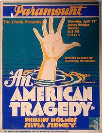 Uma Tragédia Americana - Poster / Capa / Cartaz - Oficial 1