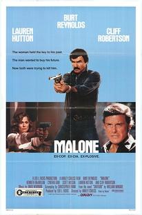Malone - O Justiceiro    - Poster / Capa / Cartaz - Oficial 5